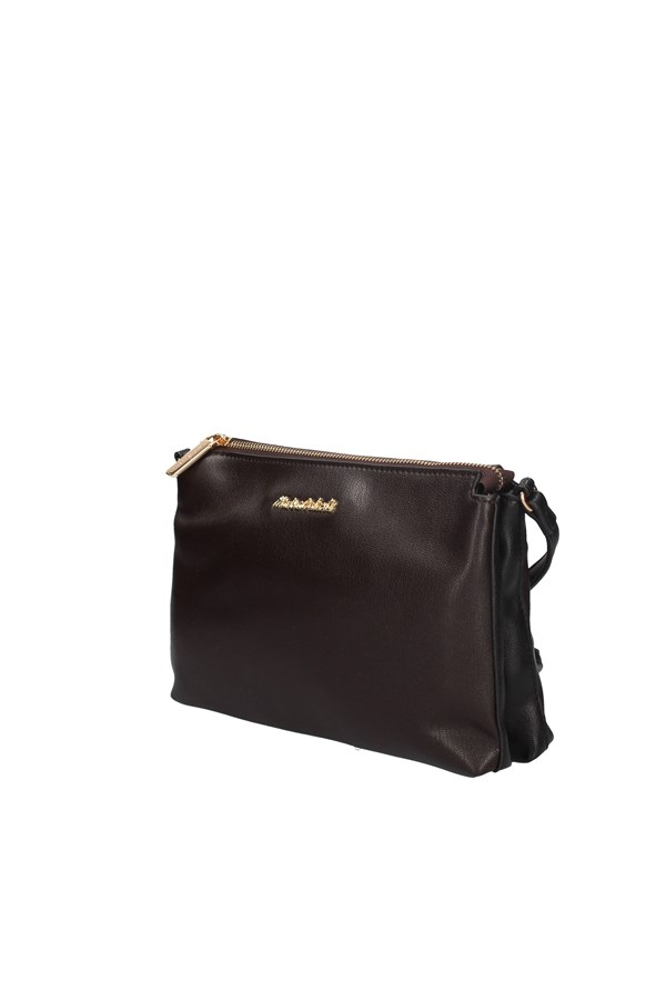MARINA GALANTI SHOULDER BAG BROWN