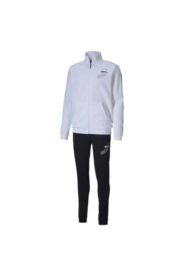 PUMA SUIT BLACK AND WHITE