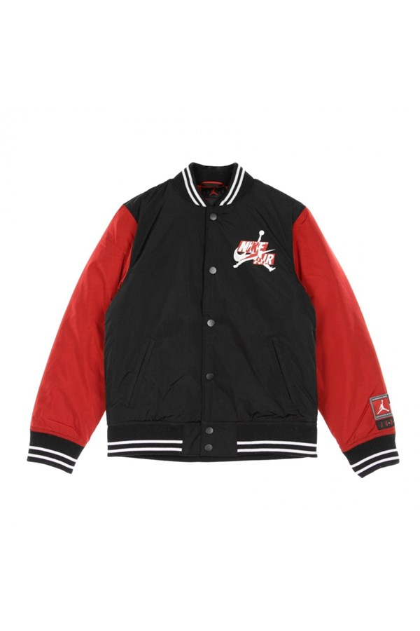 NIKE JACKET BLACK AND RED