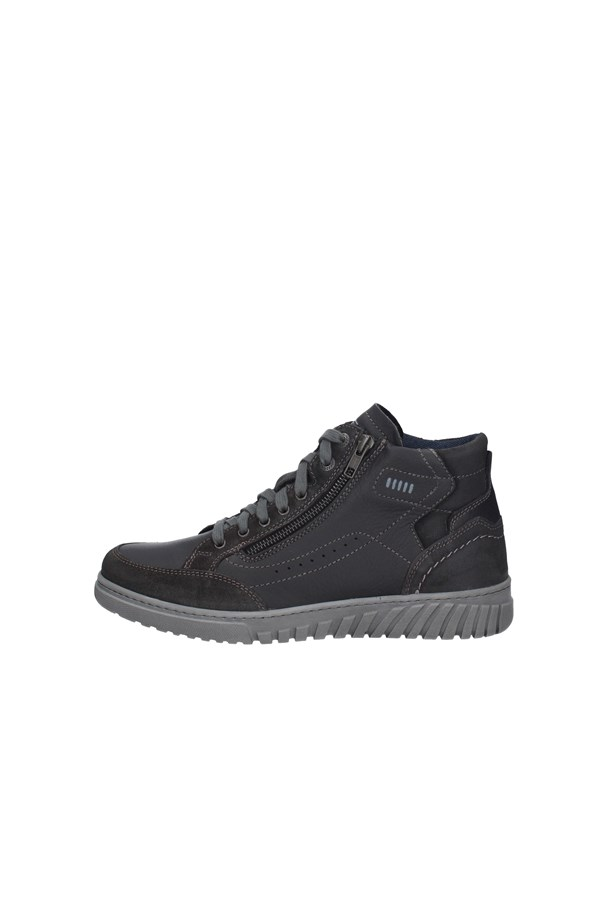 ZEN SNEAKERS ANTHRACITE AND BLACK