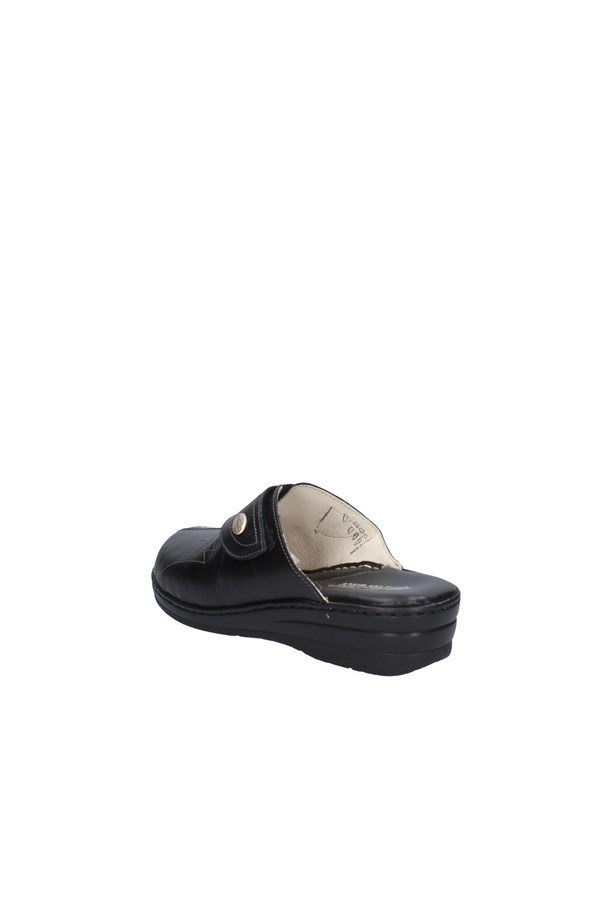 FLORANCE slippers BLACK