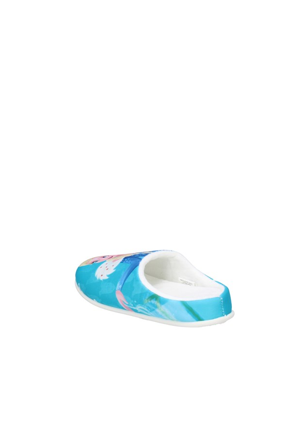 DE FONSECA slippers TURQUOISE
