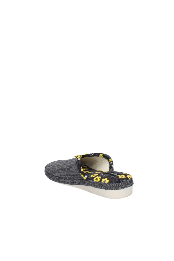 DE FONSECA slippers DARK GRAY