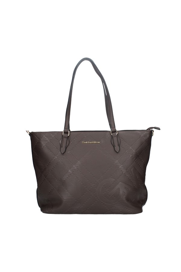 GIANMARCO VENTURI Shopping bags BROWN