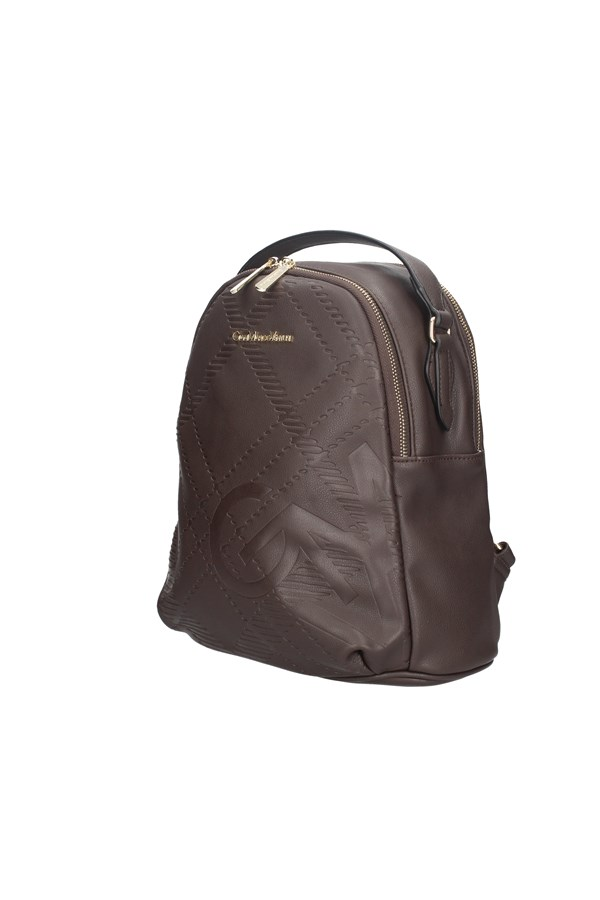 GIANMARCO VENTURI BACKPACK BROWN