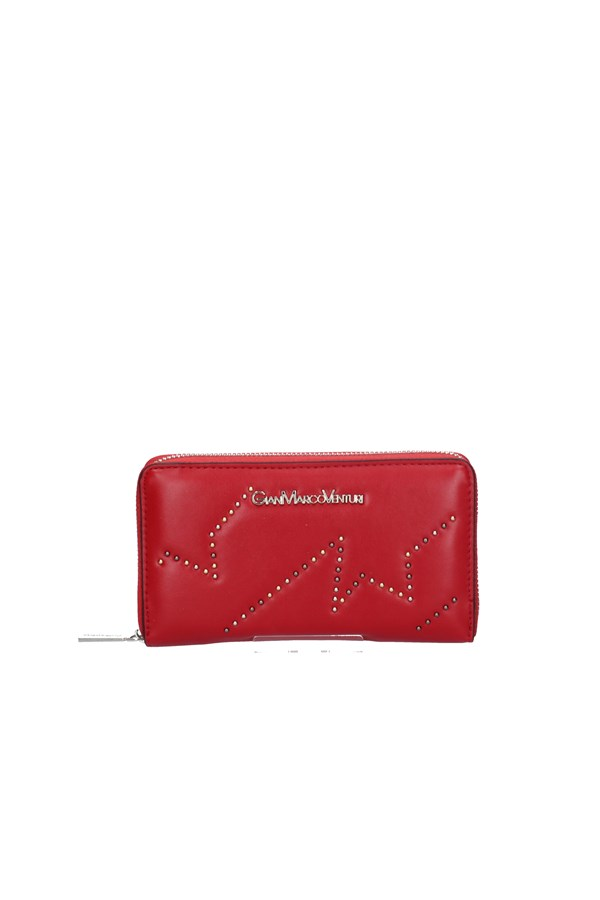 GIANMARCO VENTURI WALLET RED