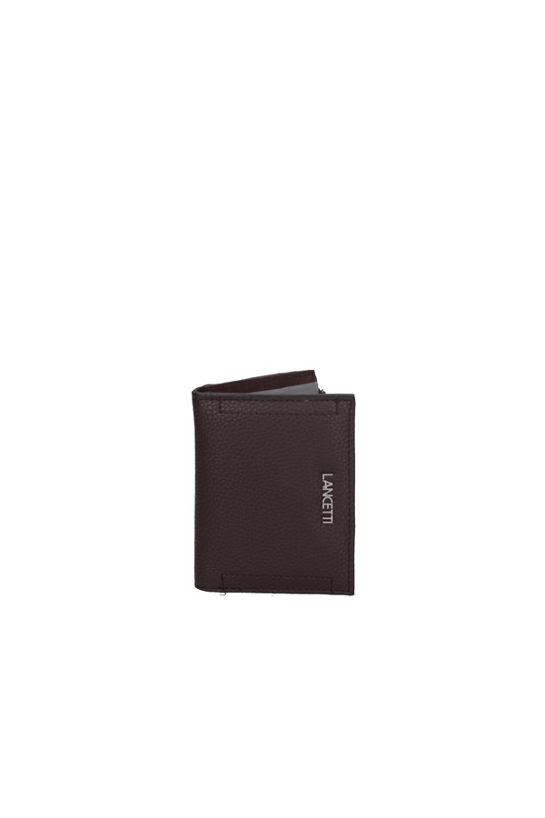 LANCETTI WALLET BROWN