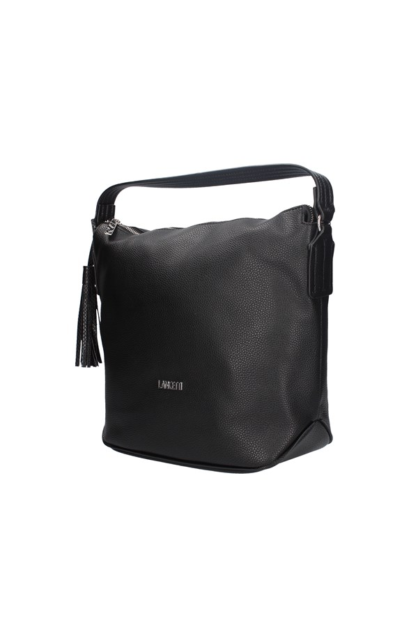 LANCETTI Shopping bags BLACK
