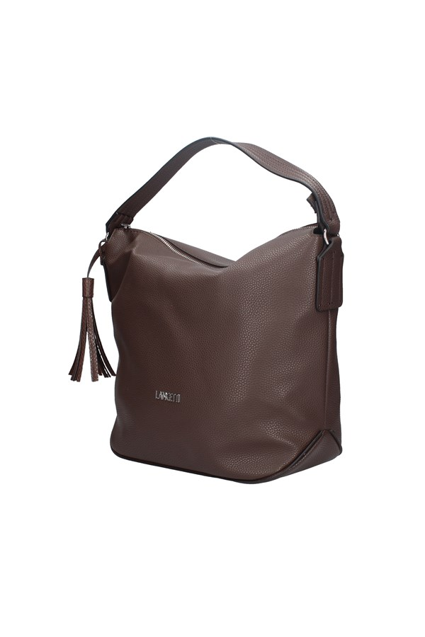 LANCETTI Shopping bags BROWN