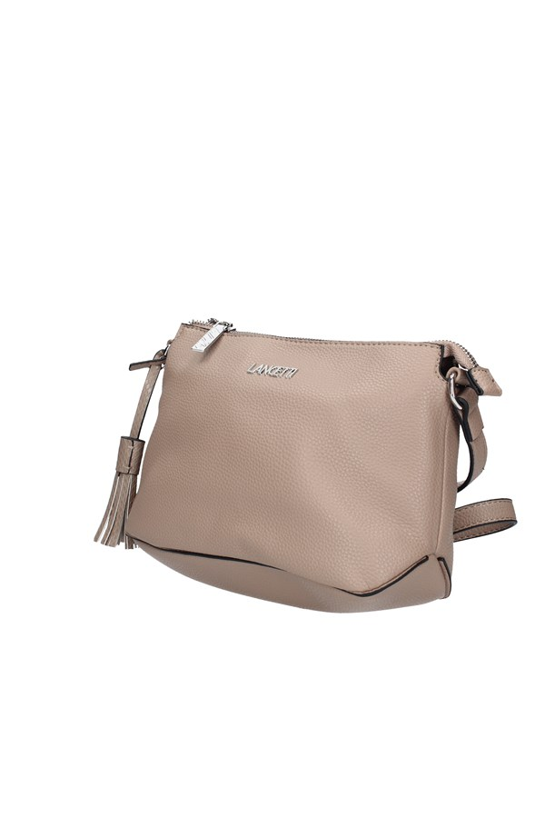 LANCETTI Shoulder Bags MUD