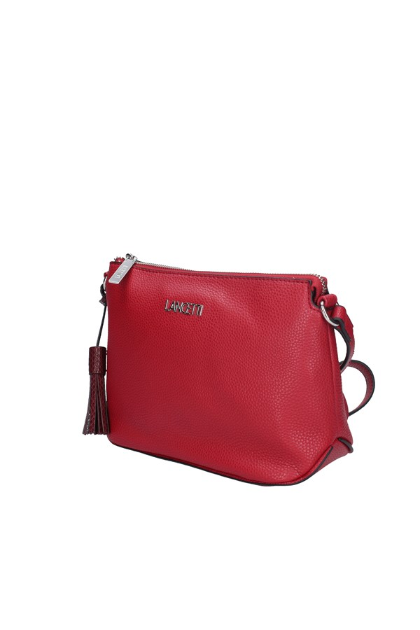 LANCETTI Shoulder Bags RED