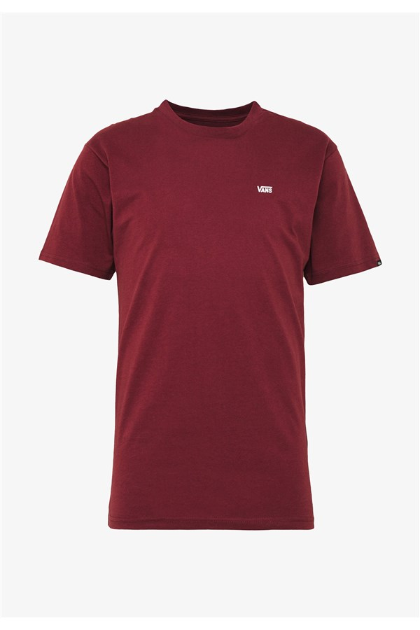 VANS T-SHIRT BORDEAUX