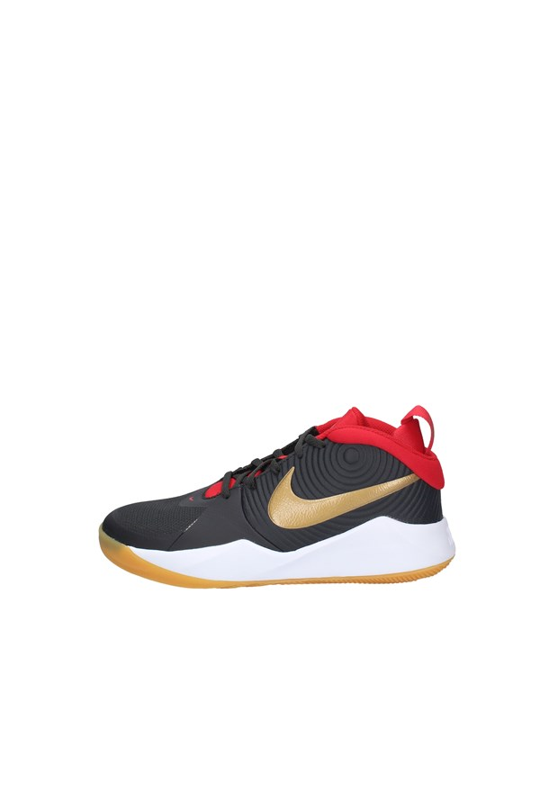 NIKE SNEAKERS GRAY RED AND BLACK
