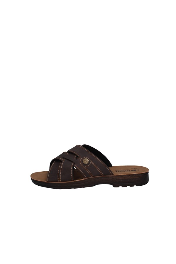 INBLU slippers BROWN