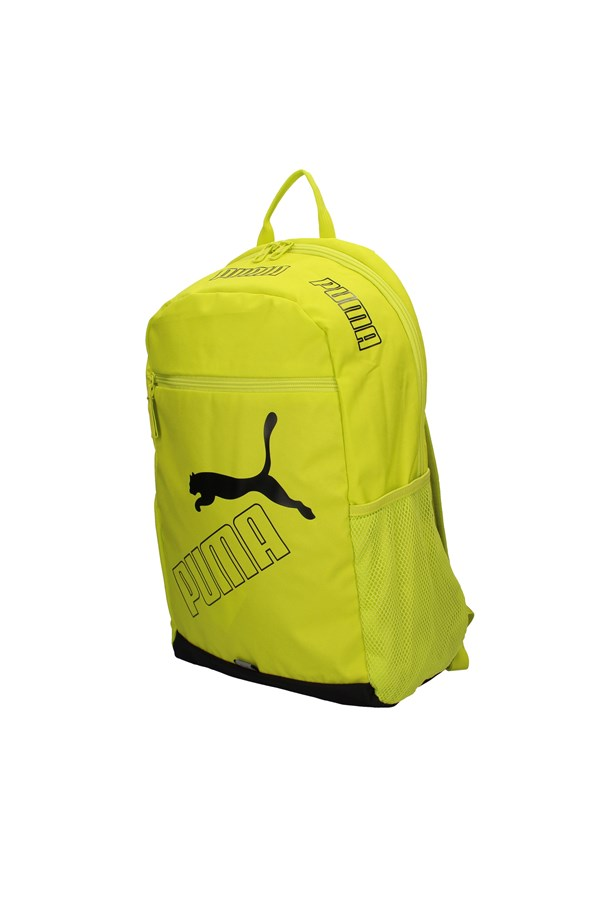 PUMA Backpacks FLUO YELLOW