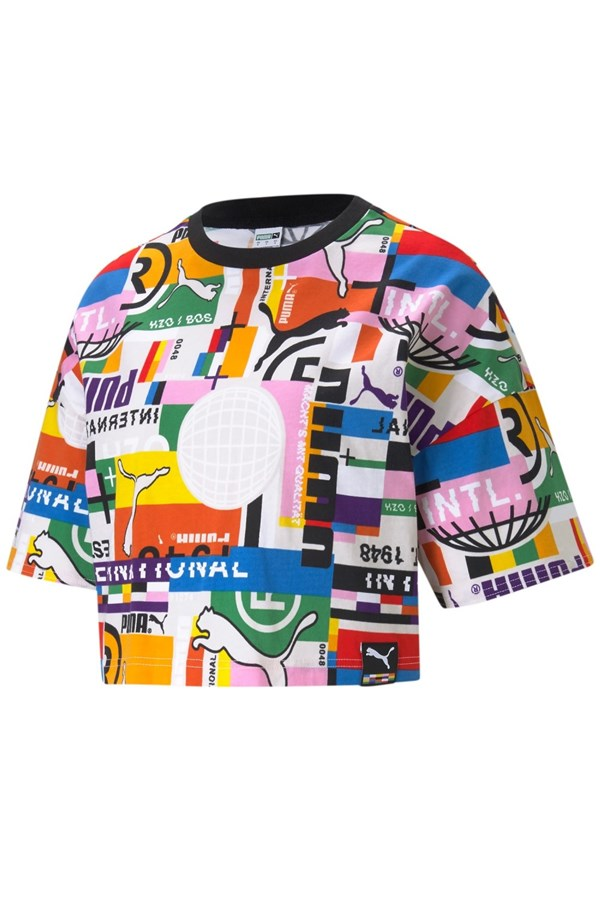 PUMA Short sleeve MULTICOLOR