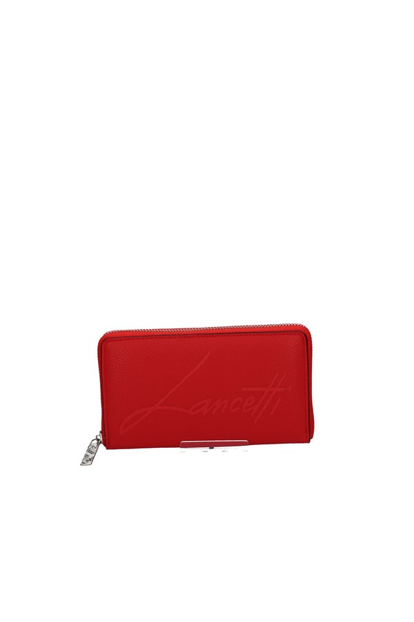 LANCETTI WALLET RED