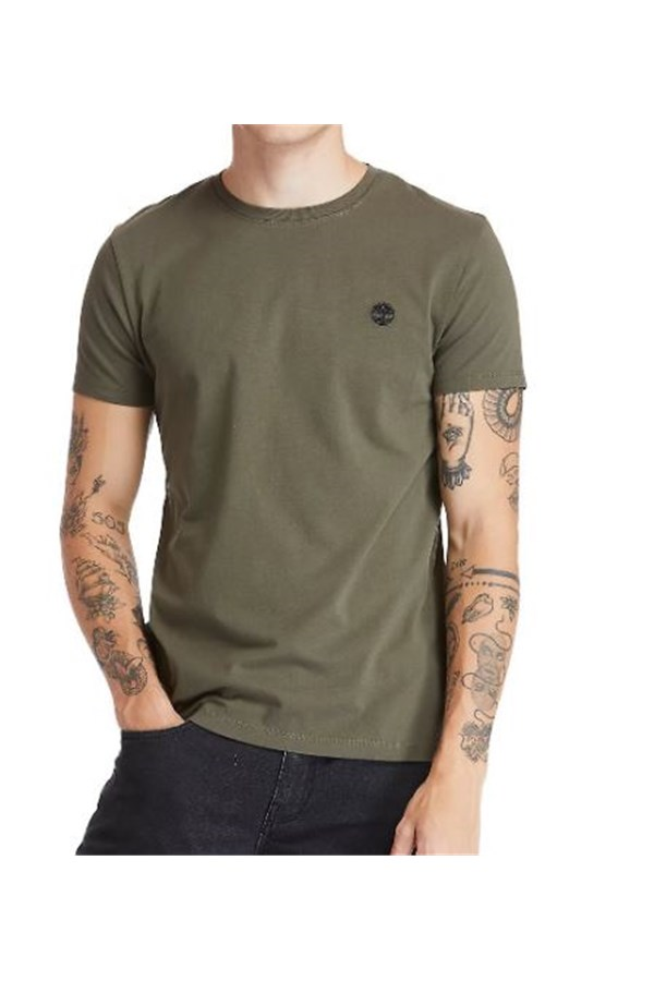 TIMBERLAND T-SHIRT MILITARY GREEN