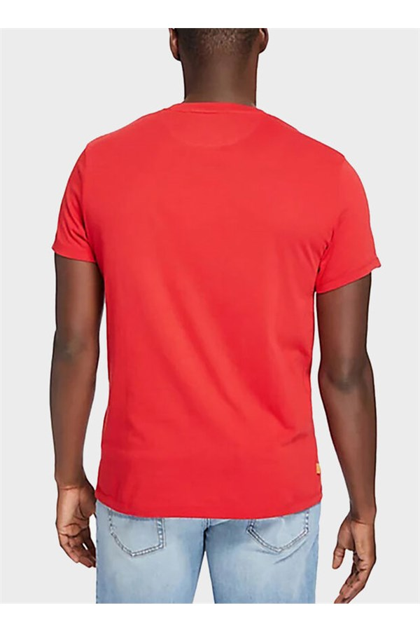 TIMBERLAND T-SHIRT RED