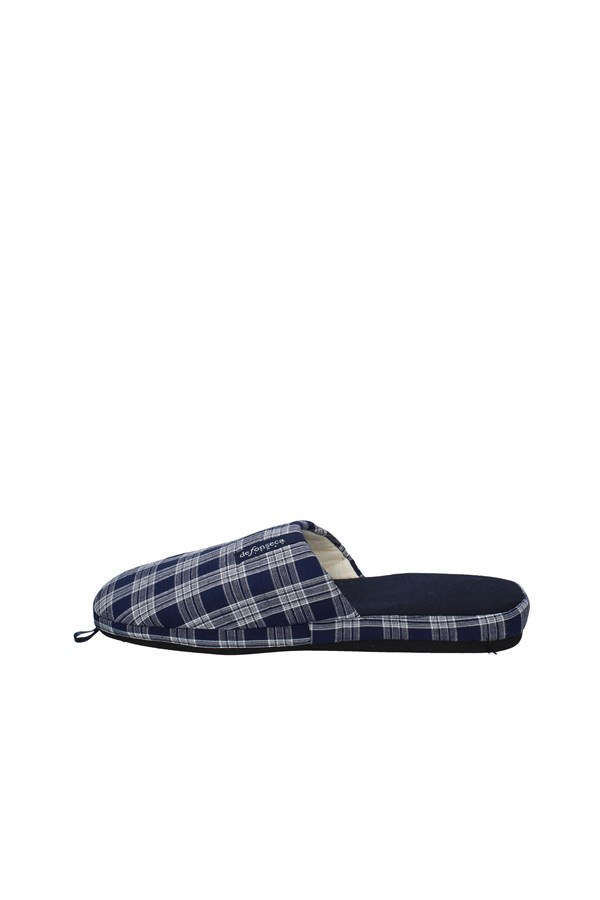 DE FONSECA slippers BLUE FANTASY