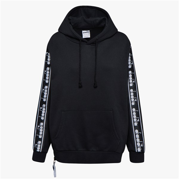 DIADORA Hooded BLACK