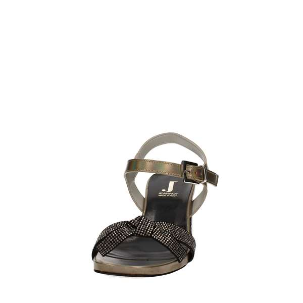 JEANNOT Sandals  With wedge Women 50629SFT50VA 4