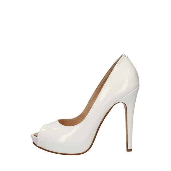 SILVANAHeeled Shoes  Check 780 WHITE