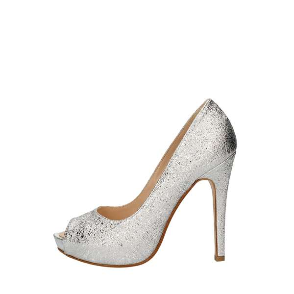 SILVANAHeeled Shoes  Check 780 SILVER
