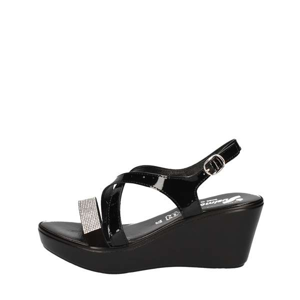 SUSIMODASandals   With wedge 243640/40 BLACK