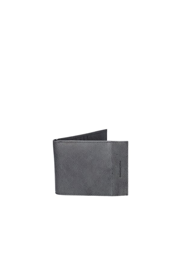PIQUADRO Banknote holder GREY