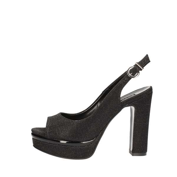 SILVANA With heel Black
