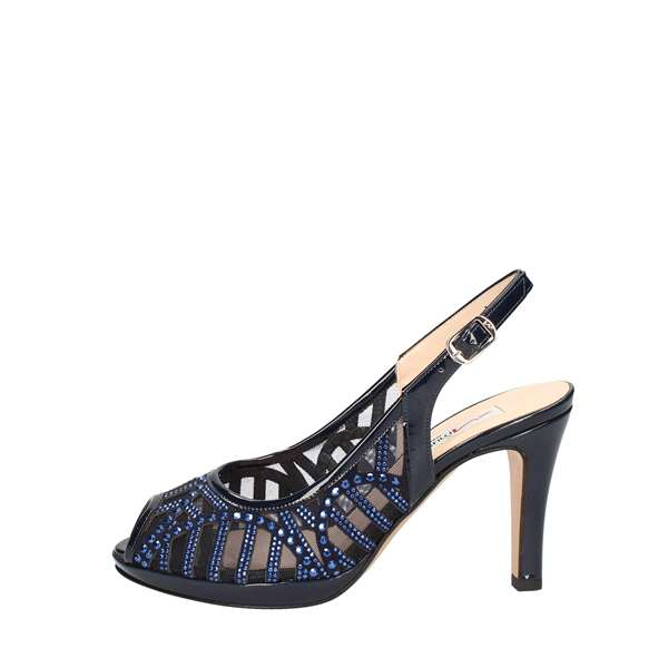 MUSELLA With heel NAVY