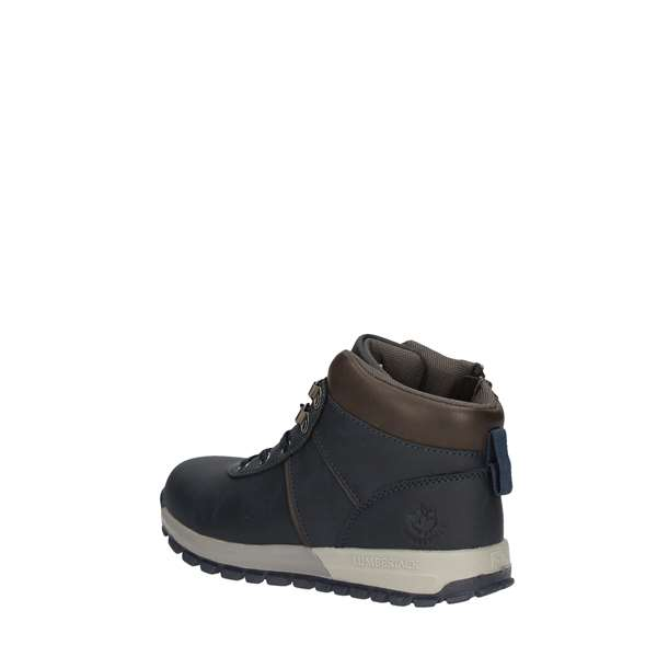 LUMBERJACK ankle boots NAVY