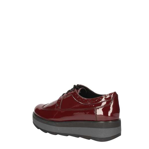 LUMBERJACK shoes with laces BORDEAUX