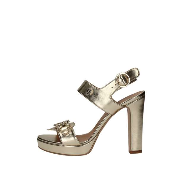 LOVE MOSCHINO With heel Platinum