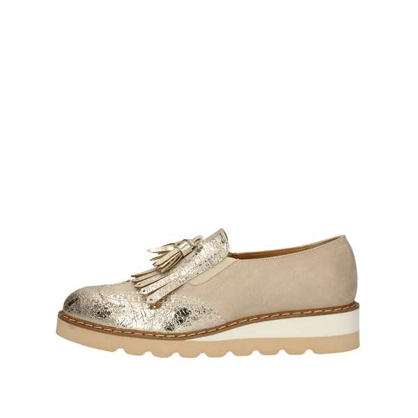 MARGOT LOI Loafers Platinum