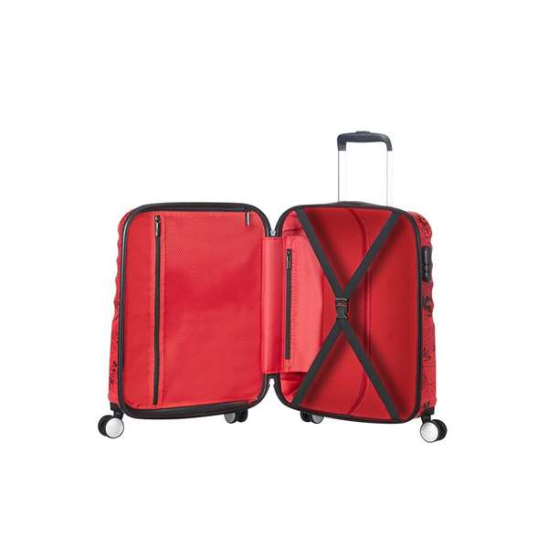 AMERICAN TOURISTER BY SAMSONITE stiff Red