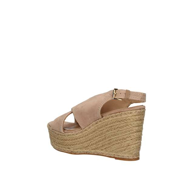 SARA LOPEZ With wedge BEIGE