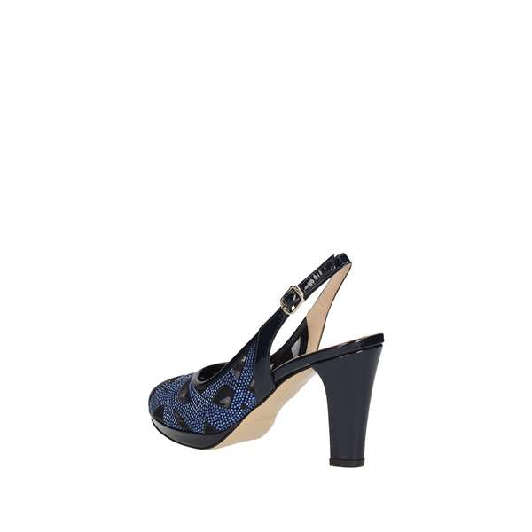 MUSELLA With heel Blue