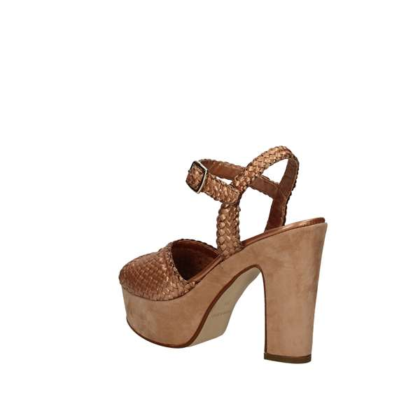 PONS QUINTANA With heel COPPER