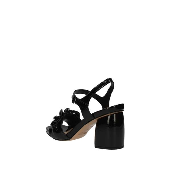 JEANNOT With heel Black