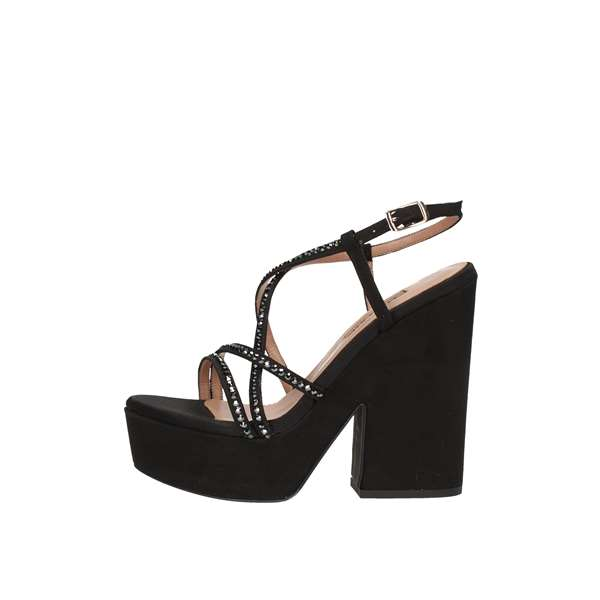 ALBANO With heel Black