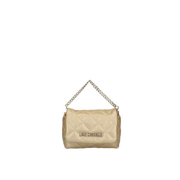 LOVE MOSCHINO evening bags Gold