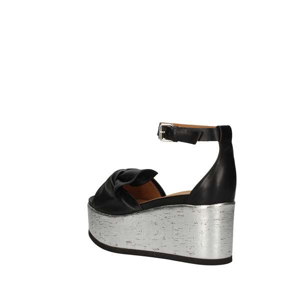 JANET SPORT  With wedge Black