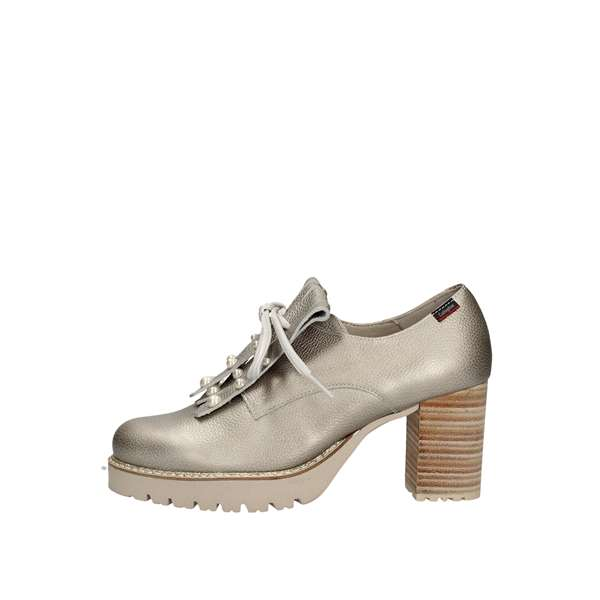 CALLAGHAN shoes with laces Silver