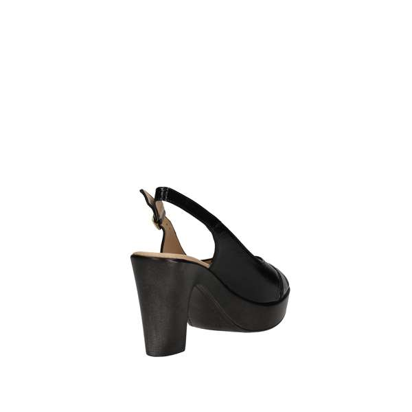DONNA SOFT 7373 Black Shoes Women