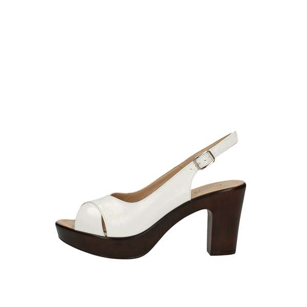 DONNA SOFT With heel White