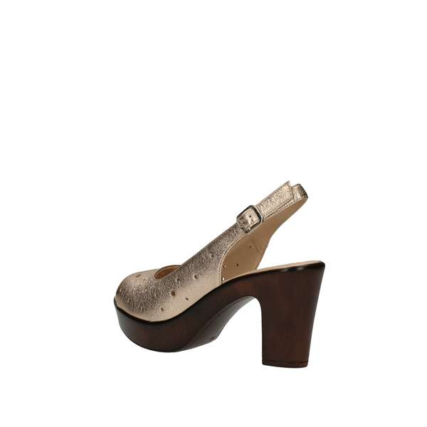DONNA SOFT With heel Platinum