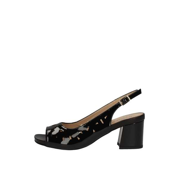 DONNA SOFT With heel Black