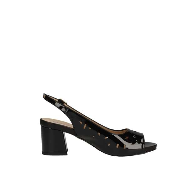 DONNA SOFT 7425 Black Shoes Women